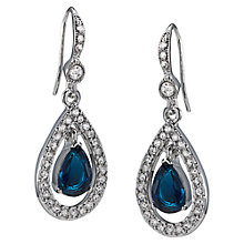Buy Carolee Teardrop Hoop Drop Earrings Online at johnlewis.com