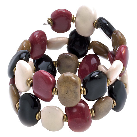 Buy Kazuri Flat Ceramic Bead Bracelet Online at johnlewis.com