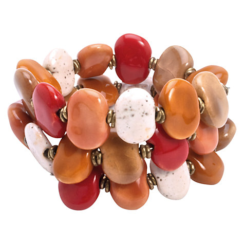 Buy Kazuri Mini Shale Flat Ceramic Bead Bracelet Online at johnlewis.com