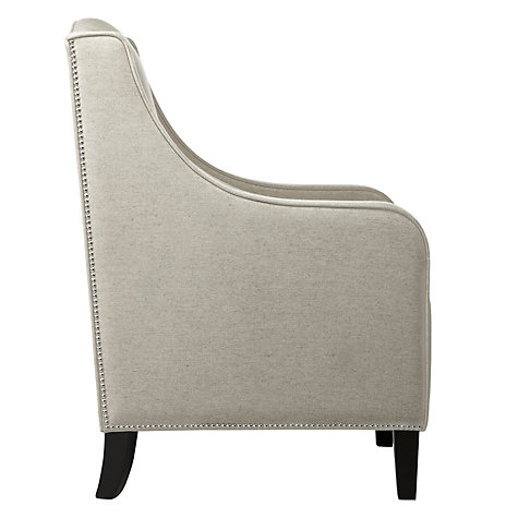 Buy John Lewis Jennifer Linen Bedroom Armchair Online at johnlewis.com