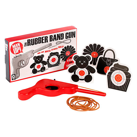 Buy Man Up Rubber Band Gun Online at johnlewis.com