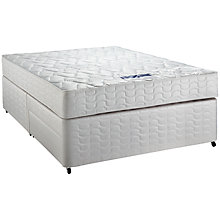 Buy Silentnight Comfort Miracoil Mattress and Divan Set, Kingsize Online at johnlewis.com