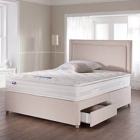 Buy Silentnight Platinum Sleep Genius Pocket Mattress and Divan Set, Double Online at johnlewis.com
