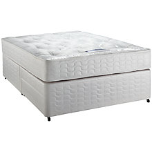 Buy Silentnight Ortho Miracoil Mattress and Divan Set, Kingsize Online at johnlewis.com