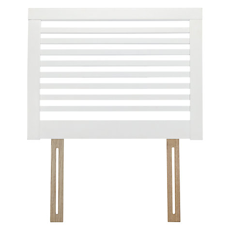 Buy John Lewis Marlow Oak Headboard, Single Online at johnlewis.com