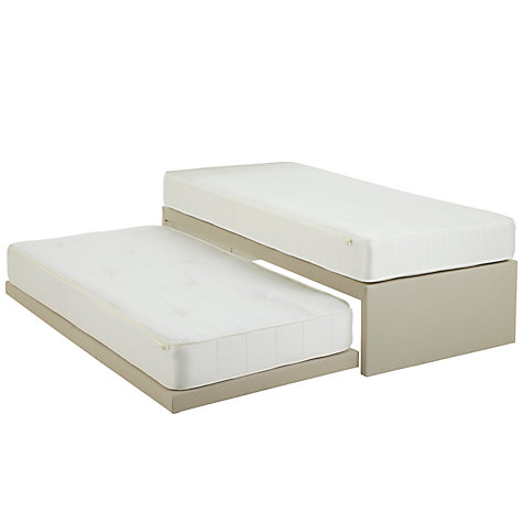 Buy John Lewis Savoy Pocket and Open Spring Trundle Guest Bed, Beige, Small Single Online at johnlewis.com