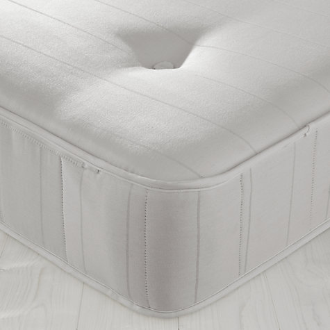 Buy John Lewis Savoy Pocket and Open Spring Guest Bed, White, Small Single Online at johnlewis.com