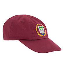 Buy Welwyn St Mary's Primary School Baseball Cap, Maroon Online at johnlewis.com
