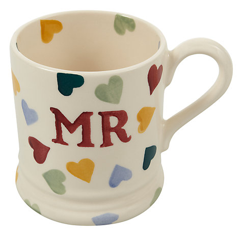 Buy Emma Bridgewater Mr and Mrs Mugs, Set of 2 Online at johnlewis.com