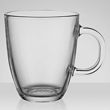 Buy Bodum Bistro Coffee Mug, Clear Glass Online at johnlewis.com