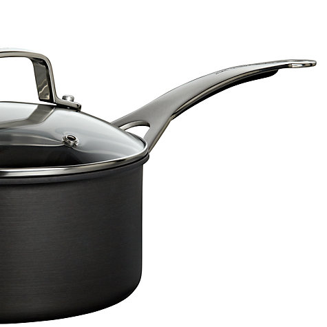 Buy Jamie Oliver by Tefal Hard Anodised Saucepan with Lid Online at johnlewis.com