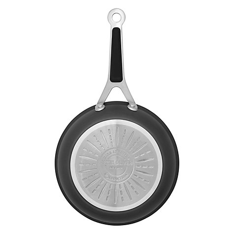 Buy Jamie Oliver by Tefal Hard Anodised Shallow Pan with Lid, Dia.30cm Online at johnlewis.com