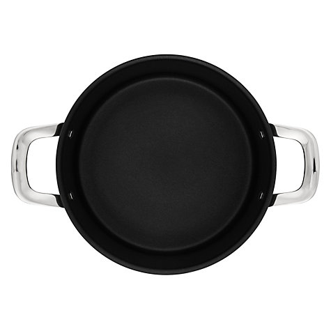 Buy Jamie Oliver by Tefal Hard Anodised Stewpot with Lid, Dia.24cm Online at johnlewis.com