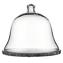 Buy John Lewis Marble Cheese Dome, Grey Online at johnlewis.com