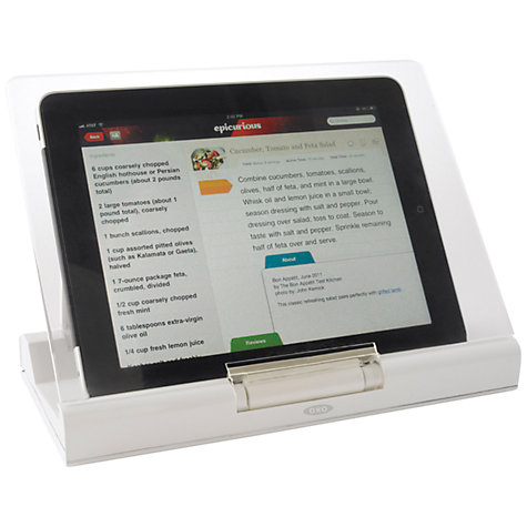 Buy OXO Pop-Up Cookbook/Tablet Stand Online at johnlewis.com