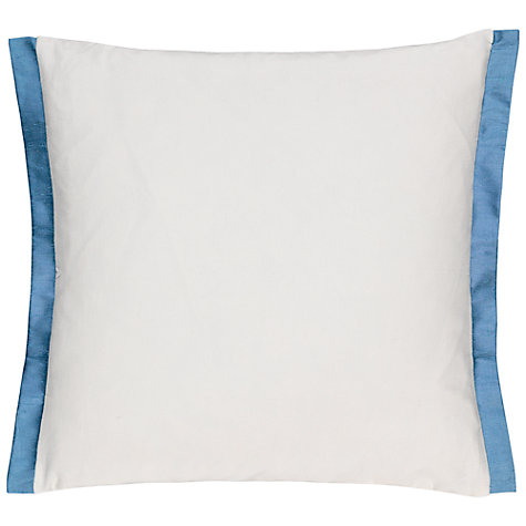 Buy Designers Guild Charlottenburg Delft Cushion, Blue Online at johnlewis.com