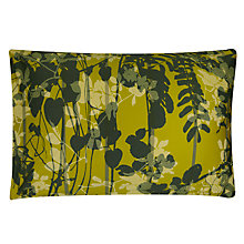 Buy Clarissa Hulse Kew Standard Pillowcases, Turmeric, Pair Online at johnlewis.com