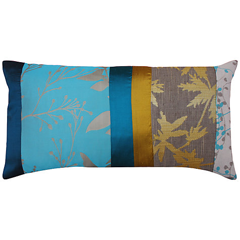 Buy Clarissa Hulse Potentilla Patchwork Cushion, Multi Online at johnlewis.com
