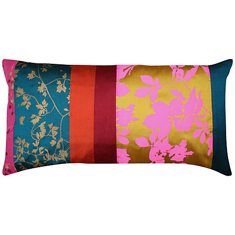 Buy Clarissa Hulse Virginia Creeper Patchwork Cushion, Multi Online at johnlewis.com