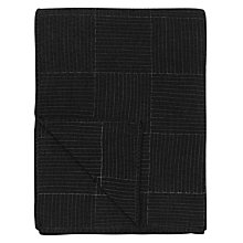 Buy Clarissa Hulse Throw, Charcoal Online at johnlewis.com