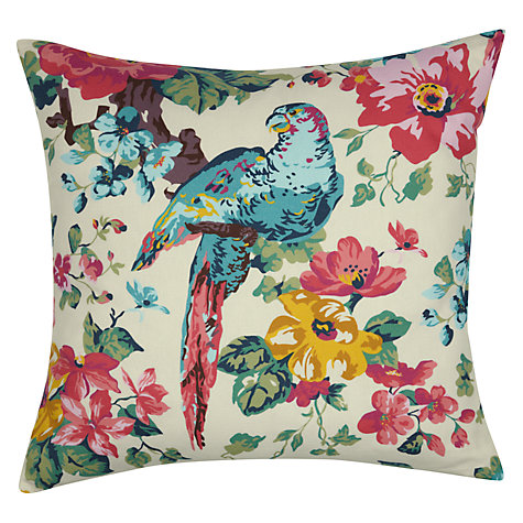 Buy Joules Sunbird Cushion, Multi Online at johnlewis.com