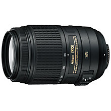 Buy Nikon DX 55-300mm f/4.5-5.6G ED VR AF-S Telephoto Lens Online at johnlewis.com