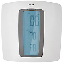 Buy Beurer BMI Jumbo Screen Bathroom Scale, White Online at johnlewis.com