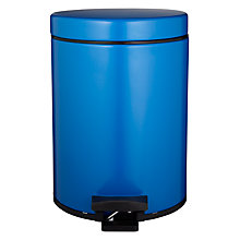 Buy Brabantia 5L Bathroom Bin, Vintage Blue Online at johnlewis.com