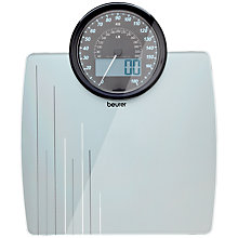 Buy Beurer Driver's Digital Bathroom Scale, Silver Online at johnlewis.com