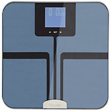 Buy Beurer ITO Coated Premium Body Analyser Bathroom Scale, Blue Online at johnlewis.com