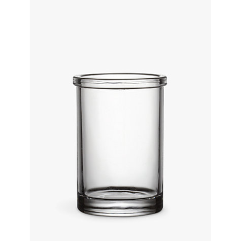 Buy John Lewis Glass Tumbler, Clear Online at johnlewis.com