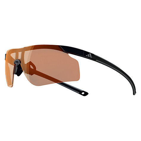 Buy Adidas Adizero Tempo Glasses, Black/Charcoal, Large Online at johnlewis.com