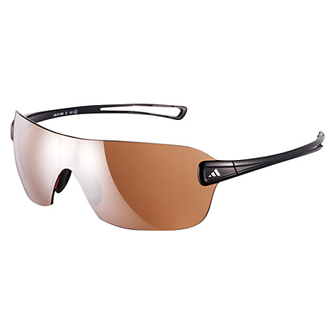 Buy Adidas Duramo Glasses, Shiny Black Online at johnlewis.com