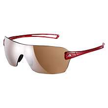 Buy Adidas Duramo Glasses, Transparent Red, Small Online at johnlewis.com