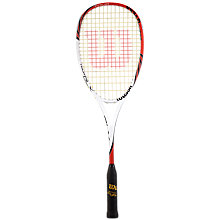 Buy Wilson Tour BLX Squash Racket Online at johnlewis.com