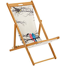 Buy John Lewis Bird Design Deckchair Online at johnlewis.com