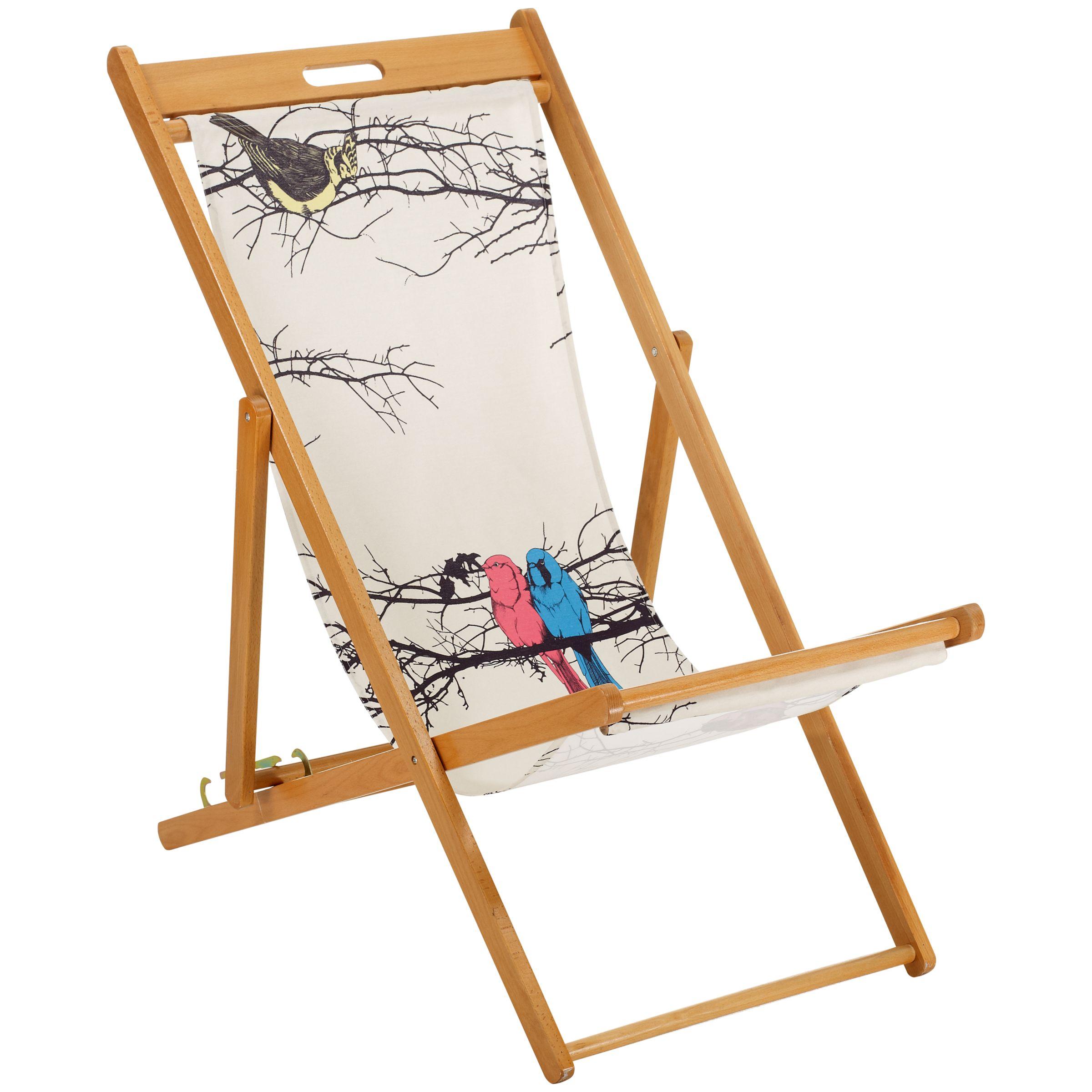 John Lewis Bird Design Deckchair