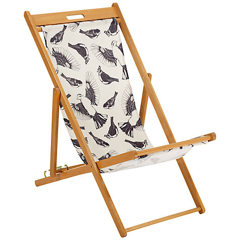Buy John Lewis Bird Outline Deck Chair Online at johnlewis.com