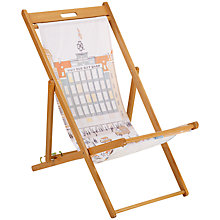 Buy John Lewis Hemingway Design Gift Shop Deck Chair Online at johnlewis.com