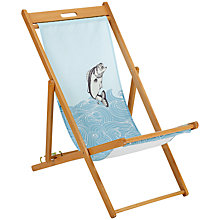 Buy John Lewis Jumping Fish Deck Chair Online at johnlewis.com