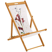 Buy John Lewis Painterly Floral Deck Chair Online at johnlewis.com