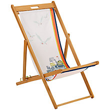 Buy Hemingway Design Pavillion Design Deck Chair Online at johnlewis.com