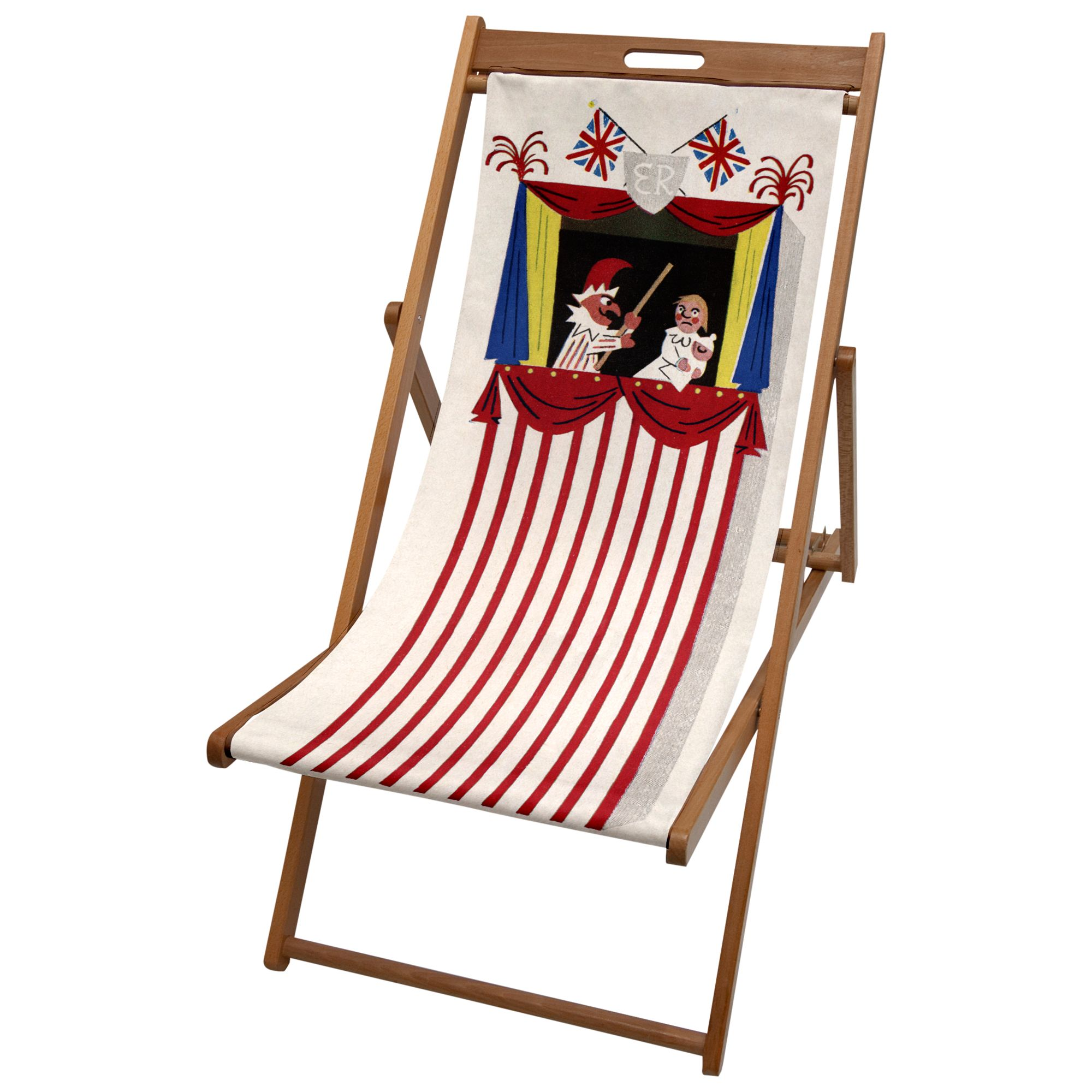 Hemingway Design Punch and Judy Deck Chair