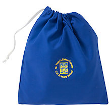Buy St Peter's Eaton Square C of E Primary School Shoe Bag, Blue Online at johnlewis.com