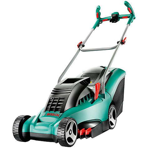 Buy Bosch Rotak 37 Ergoflex Rotary Hand-Propelled Electric Lawnmower Online at johnlewis.com