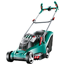 Buy Bosch Rotak 37 Li Ergoflex Cordless Rotary Hand-Propelled Electric Lawnmower Online at johnlewis.com