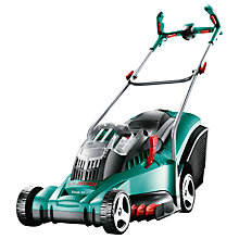 Buy Bosch Rotak 43 Li Ergoflex Cordless Rotary Hand-Propelled Electric Lawnmower Online at johnlewis.com