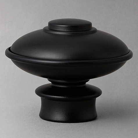 Buy John Lewis Black Onion Finial, Dia.19mm Online at johnlewis.com