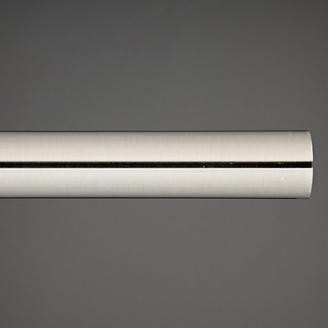 Buy John Lewis Steel Curtain Pole, L150cm x Dia.28mm Online at johnlewis.com