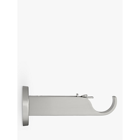 Buy John Lewis Steel Contemporary Side/Centre Bracket, Dia.28mm Online at johnlewis.com